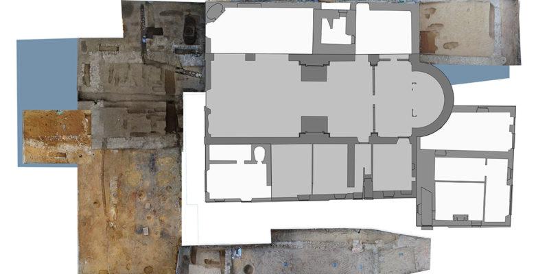 Excavation areas