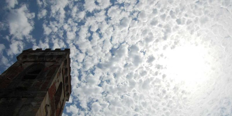 A cloudy sky above St. Peter