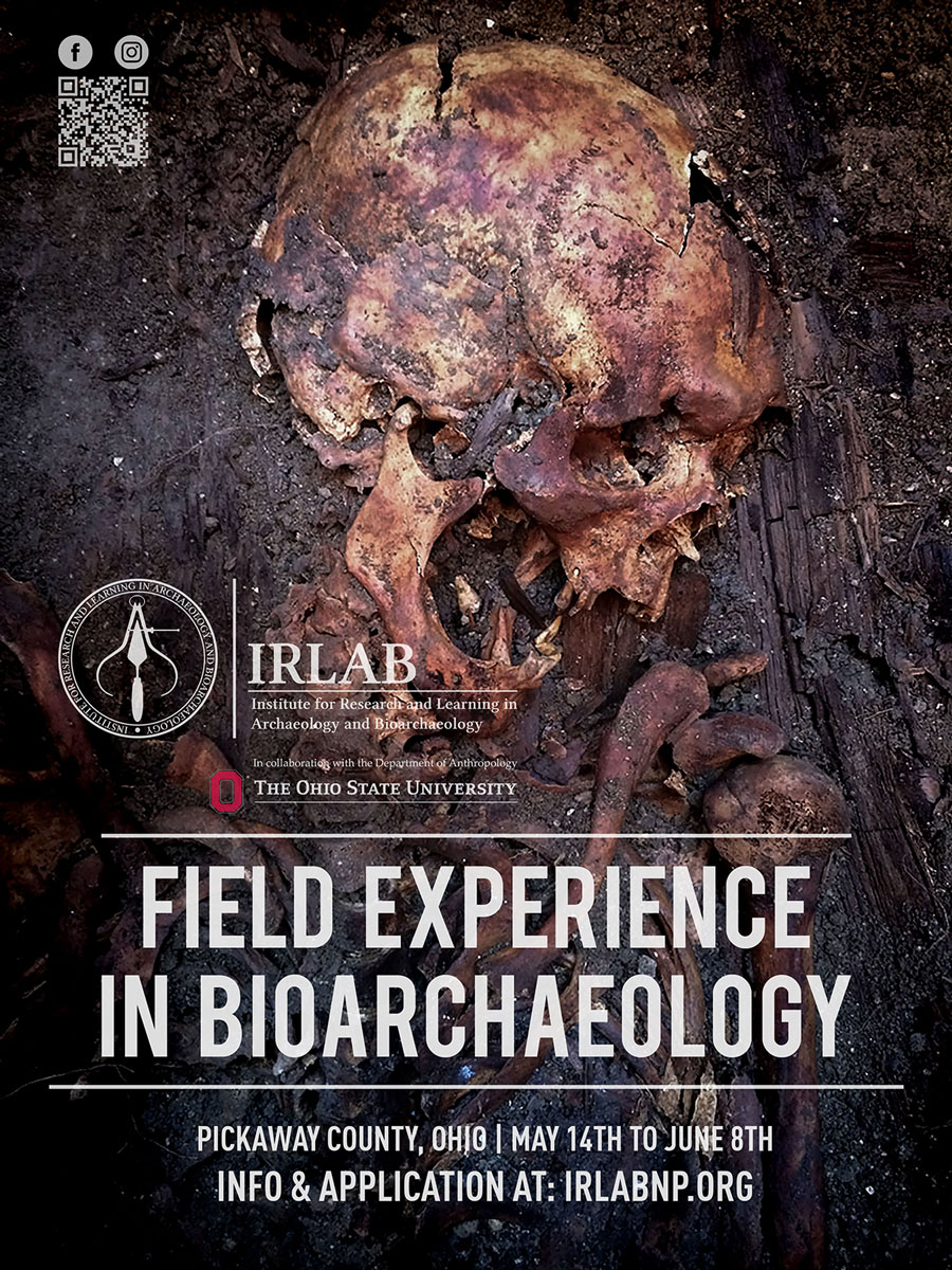 Field Experience in Bioarchaeology in Ohio
